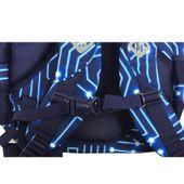 Trzykomorowy plecak szkolny St.Right 29 L, Pixelmania Blue BP4 zdjęcie 2
