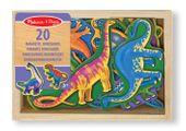 Magnesy drewniane Dinozaury - Melissa and Doug