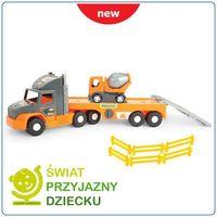 LAWETA Z BETONIARKĄ-SUPER TECH TRUCK 36750/WADER,