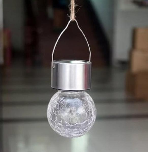 LAMPKA SOLARNA OGRODOWA WISZĄCA LED zdjęcie 4