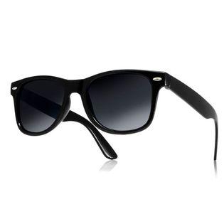 Okulary przeciwsłoneczne WAYFARER nerdy kujonki # CZARNE