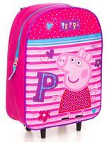 Torba walizka na kółkach Licencja Peppa Pig (007-0564)