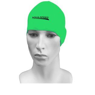 Czepek pływacki treningowy RACER Kolor - Czepki - Racer - 11 - zielony