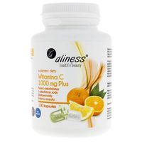 Aliness Witamina C 1000 mg Plus - 100 kapsułek