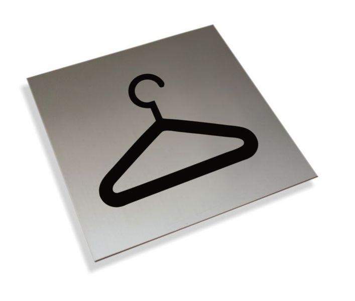 Tabliczki informacyjne na drzwi piktogram szatnia tabliczka zdjęcie 1