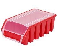 Mały Pojemnik Magazynowy Warsztatowy Ergobox 2 czerwony plus long Patrol