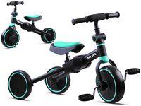 Rowerek 3w1 trójkołowy, jeździk, biegowy SP0663