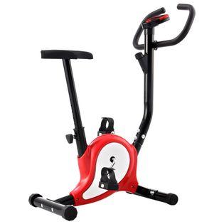 Rowerek Do Ćwiczeń Z Paskiem Oporowym, Czerwony