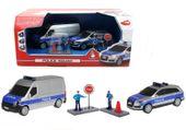Zestaw Policyjny POLICJA Samochody Figurki Efekty