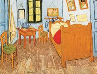 Reprodukcja Pokój Van Gogha w Arles 40x60cm