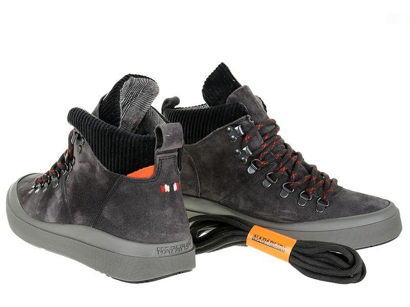 Sneakersy Napapijri Mid Grey Castelrock NA4DZF-H90 - 41 zdjęcie 2