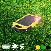 Power bank zasilany energią słoneczną 4000 mAh 144939 Żółty