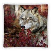Poduszka dekoracyjna 48x48 wilk
