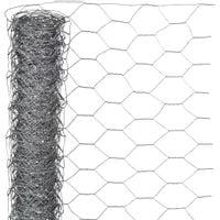 Nature Siatka z drutu, sześciokątna 0,5x10 m 25 mm, galwanizowana stal