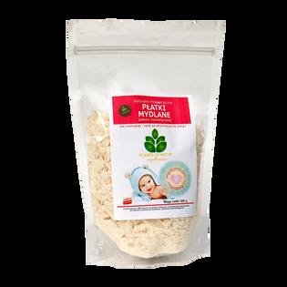 Naturalne płatki mydlane dla dzieci i niemowląt hipoalergiczne 300g Powrót do Natury
