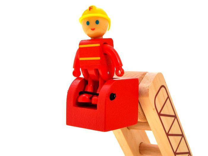 WIELKA Straż Pożarna wóz strażacki DREWNO ZA1809 zdjęcie 6