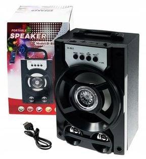 Głośnik Bluetooth Mp3 Radio Fm Sd Usb
