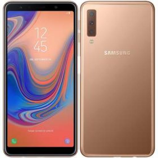 Telefon komórkowy Samsung Galaxy A7 Dual SIM (SM-A750FZDUXEZ) Złoty zdjęcie 2