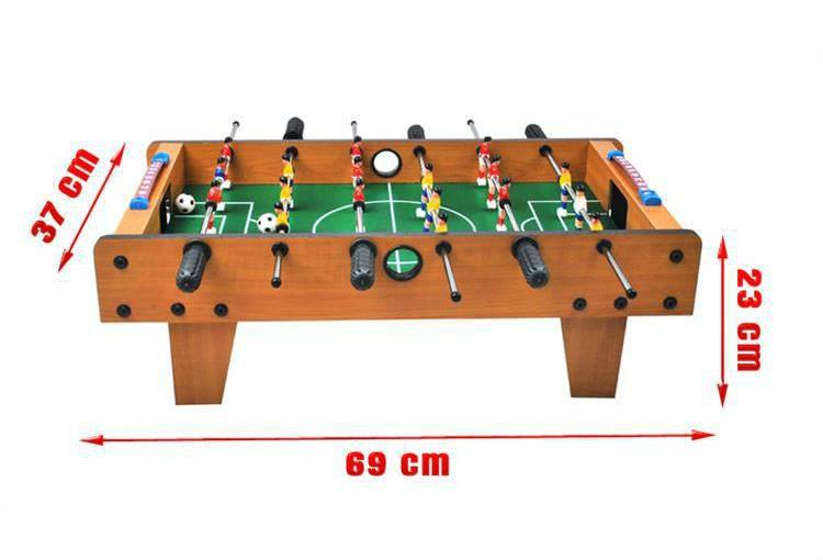 Edycja produktu Piłkarzyki stołowe 69x37x24.5cm zdjęcie 3