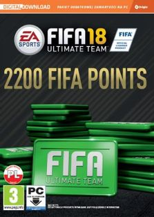 2200 Fifa 18 Ultimate Team Points - PC