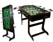 Piłkarzyki stół piłkarski składany 121 x 101 x 79cm BELFAST M09413