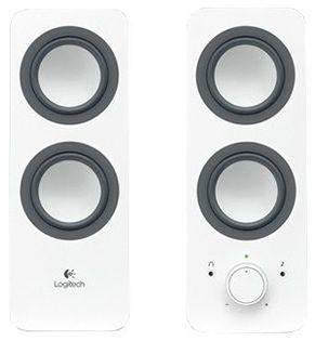 Głośniki Logitech Multimedia Speakers Z200 Biało-Czarny 980-000811