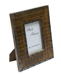 Drewniana ramka na zdjęcia - A-1328, format zdjęcia 10x15cm