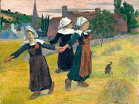 Breton Girls Dancing, Pont-Aven Rozmiar - 60x45
