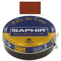 SAPHIR Pate de Luxe - Pasta do butów 50 ml JASNY BRĄZ 03
