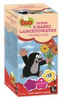 Syrop dla dzieci z babki lancetowatej i dzikiej roży BIO 250 g - Apotheke (little mole)