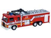 Wóz Strażacki Metalowy Model Auto Straż Pożarna
