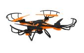 DRON OVERMAX X-Bee DRONE 3.1 PLUS WiFi GOGLE + KAMERA - pomarańczowy