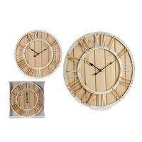 Zegar Ścienny Sznurek Drewno Sznurek (3,5 x 60 x 60 cm)