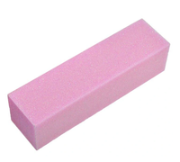 Różowy blok polerski polerka