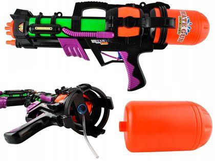 Pistolet na Wodę Broń Wodna Strzelba Strzelanie Sikawka 60cm X58