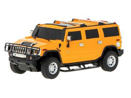 Samochód Rc Hummer H2 - Licencja 1:24 Żółty