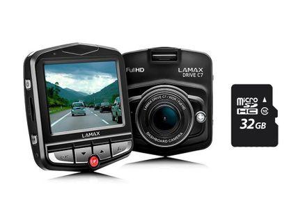 Lamax Drive C7 Full HD rejestrator jazdy + 32GB