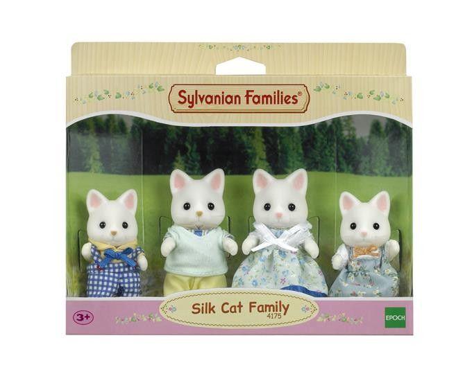 Sylvanian Families Rodzina jedwabistych kotków zdjęcie 3