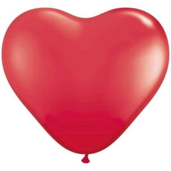 Balony CZERWONE SERCA balon walentynki 100 szt zdjęcie 1