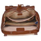 Ekskluzywny skórzany plecak męski McKlein Hagen Czarny zdjęcie 6