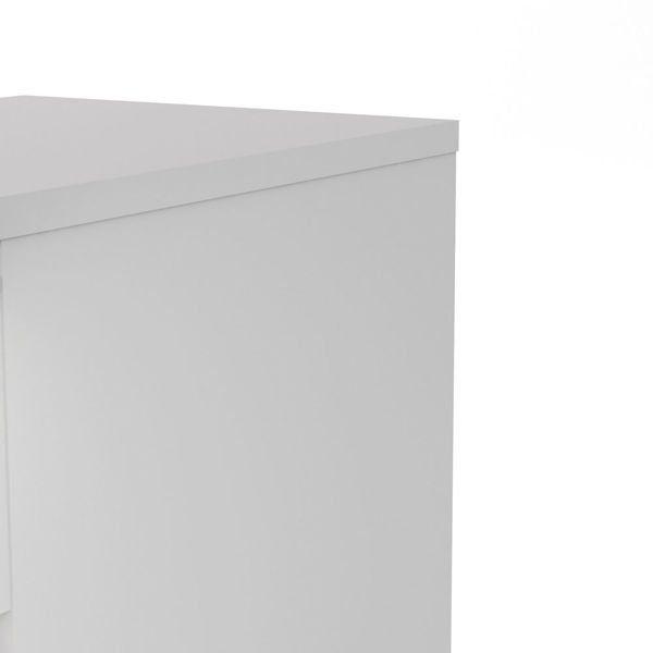 Komoda wąska 5S Naia biała wysoki połysk zdjęcie 9