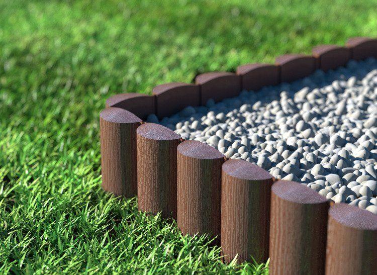 Cellfast Palisada ogrodowa ECO 8 elementów - 2,4m zdjęcie 4