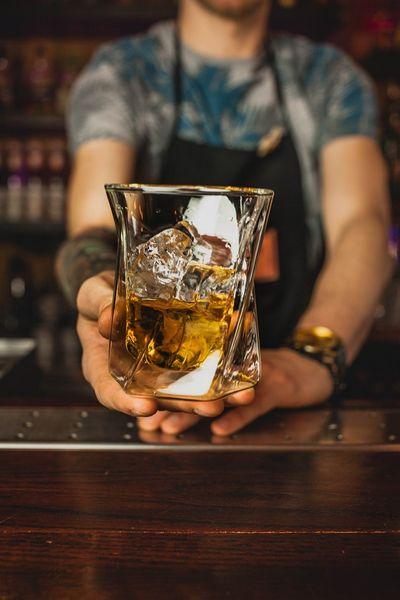 Szklanki Termiczne z Podwójną Ścianką do Whisky Drinków 250ml 6 sztuk zdjęcie 3