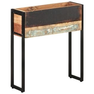 Lumarko Donica, 60x20x68 cm, lite drewno z odzysku