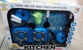 Zestaw kuchenny do gotowania kuchenka garnki