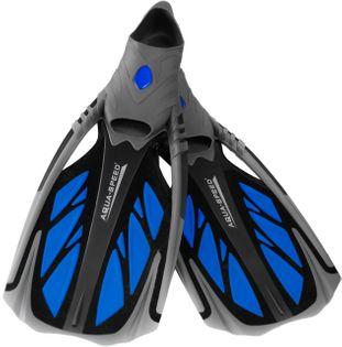Płetwy do snorkelingu INOX 40/41, 42/43 Rozmiar - Płetwy - 42/43, Kolor - Płetwy - Inox - 11 - czarny / niebieski