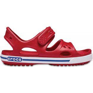 Crocs sandały dla dzieci Crocband II Sandal PS Kids czerwono-niebieskie 14854 6OE 33-34