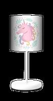 Bajkowy Jednorożec  Lampa stołowa lampka nocna dla dziewczynki