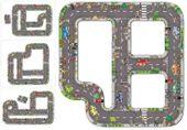 Puzzle Ogromna Jezdnia Ulica Droga do zabawy dla dzieci