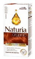 Naturia Organic pielęgnująca farba do włosów bez amoniaku i PPD 320 Płomienny
